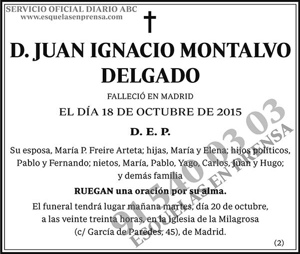 Juan Ignacio Montalvo Delgado
